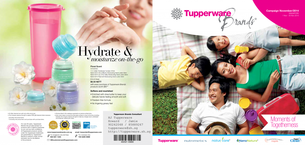 Tupperware Singapore November Catalogue by HJ