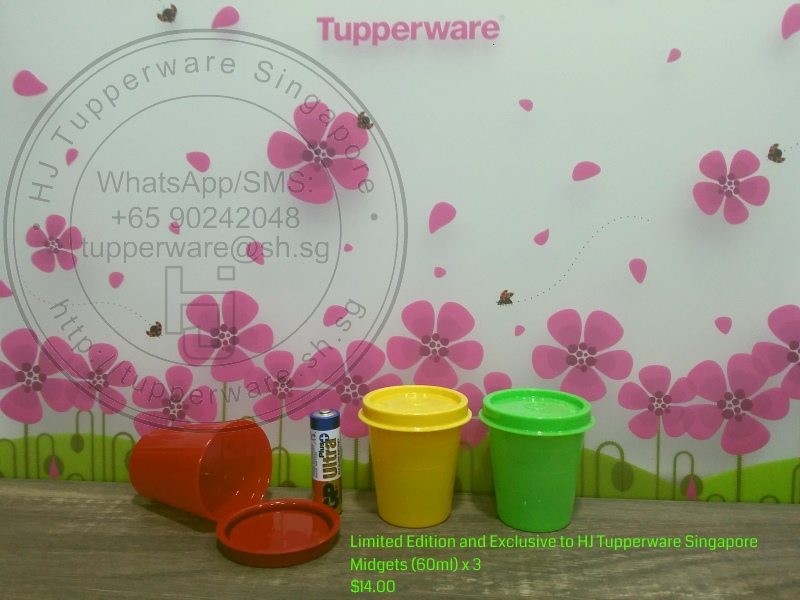 Tupperware Midgets 60ml 2oz