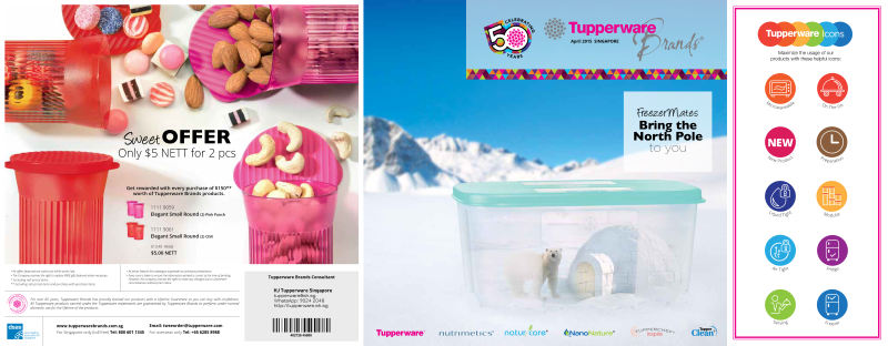 April 2015 Tupperware Catalogue Download