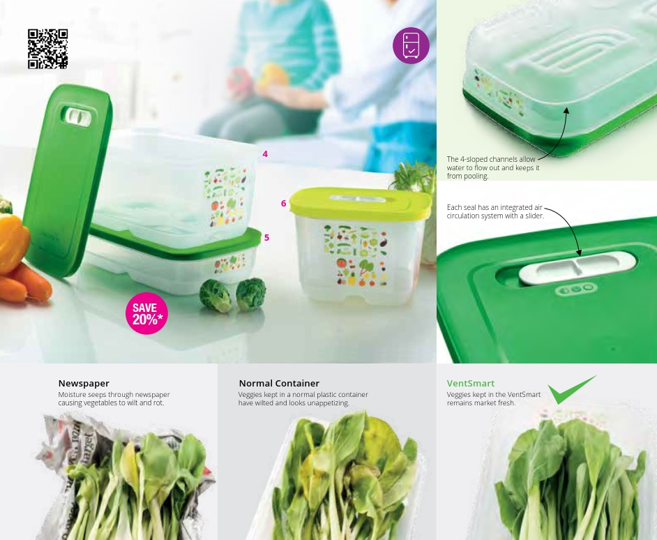 Tupperware VentSmart