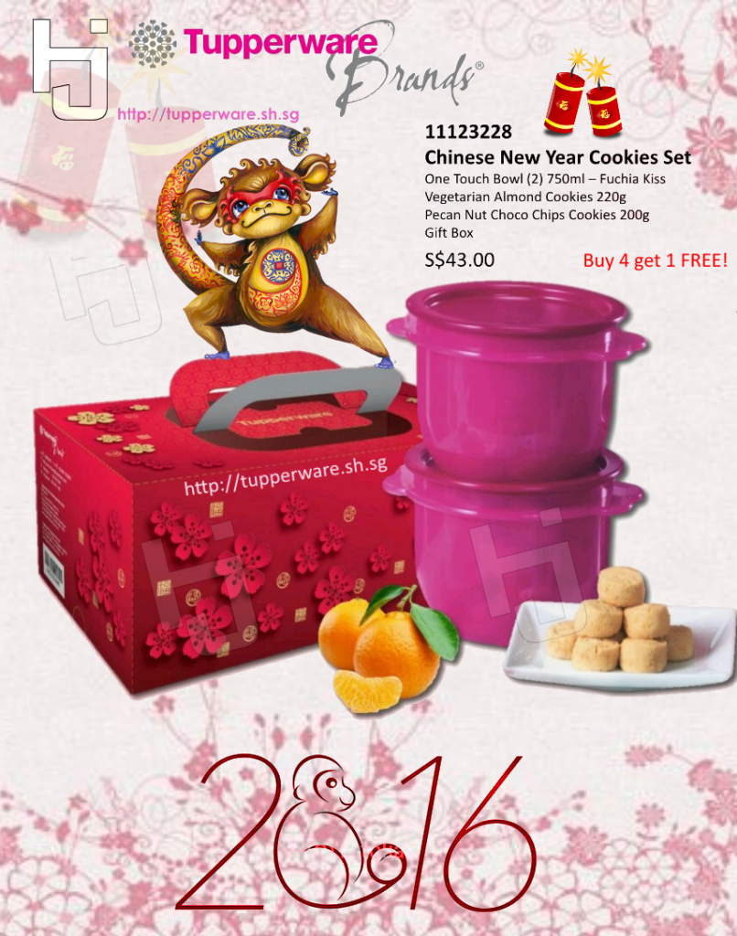 Tupperware 2016 CNY Cookies