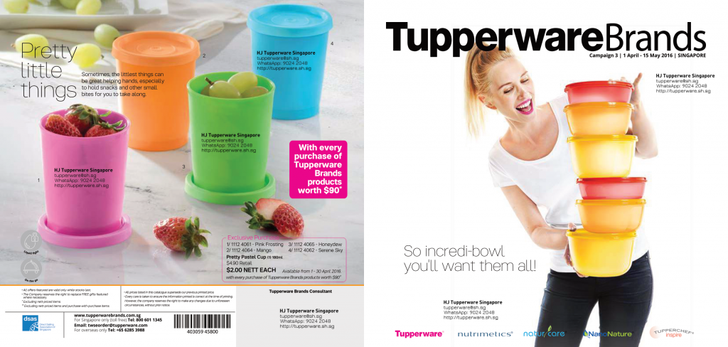 april and may 2016 tupperware catalogue singapore buy tupperware online in singapore. Black Bedroom Furniture Sets. Home Design Ideas
