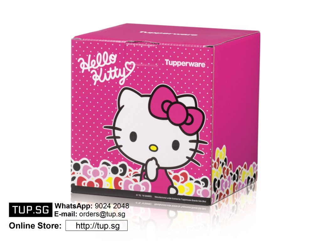 Tupperware Singapore Hello Kitty Lunch Set
