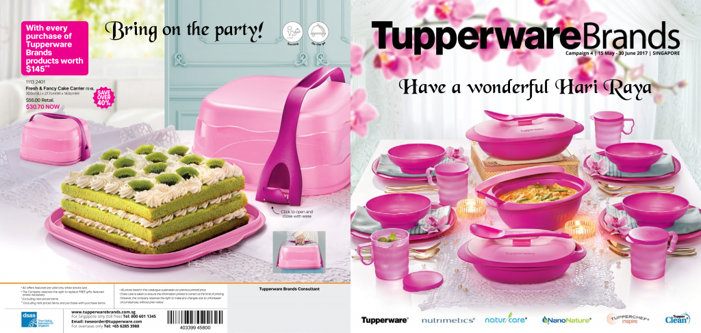 May 2017 June 2017 Tupperware Catalogue