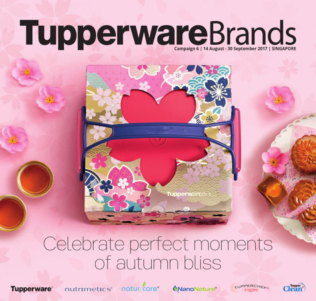 August September 2017 Tupperware Catalogue