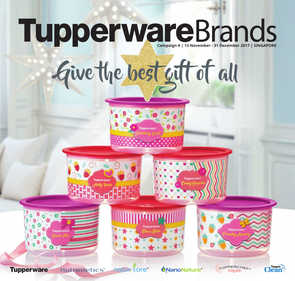 Tupperware Singapore November - December 2017 Catalogue