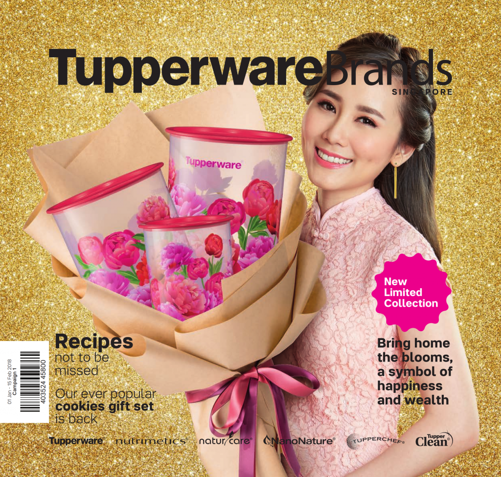Tupperware Singapore January February 2018 CNY Catalogue