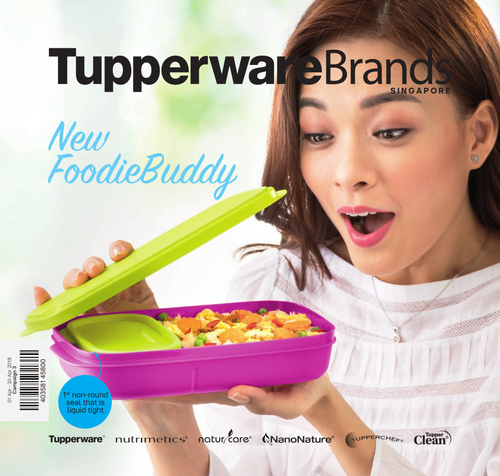 April 2018 Tupperware Singapore Catalogue