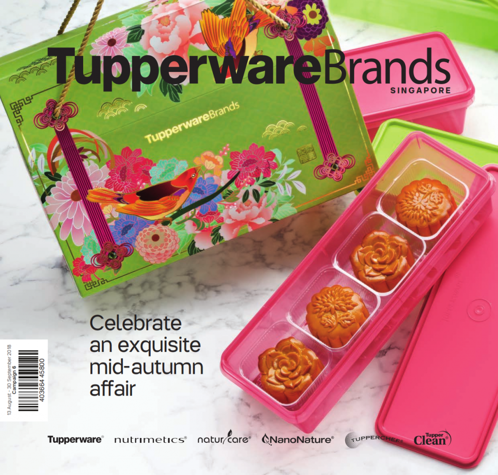 Tupperware Mooncake 2018 Catalogue August September