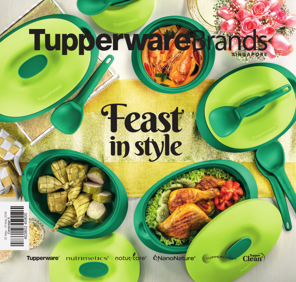 May 2019 Tupperware Singapore Catalogue